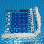 Kit to fit pool cover to roller