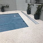 Below Ground Roller for hidden pool covers